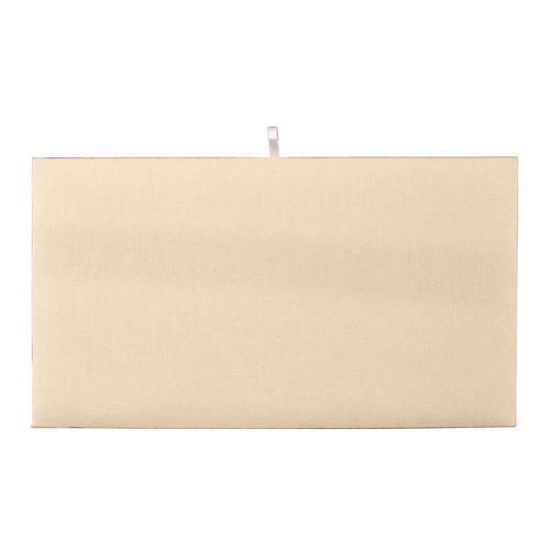 "Full Size  Plain Pad 14 1/8"" x 7 5/8"", Beige-Suede"
