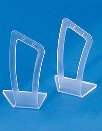 "Frosted Acrylic earring display - 1 1/8"" x 2 1/2""H(Price for 1 pieces)"