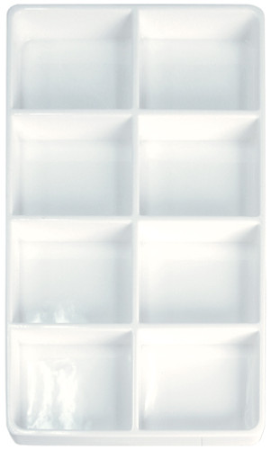 8-Compartment Heavy Duty Lightweight Plastic Stackable Trays (PC8)