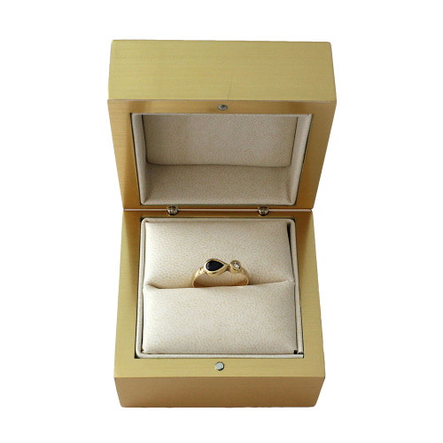 Elegant Gold Ring Box (AAR5-GD)
