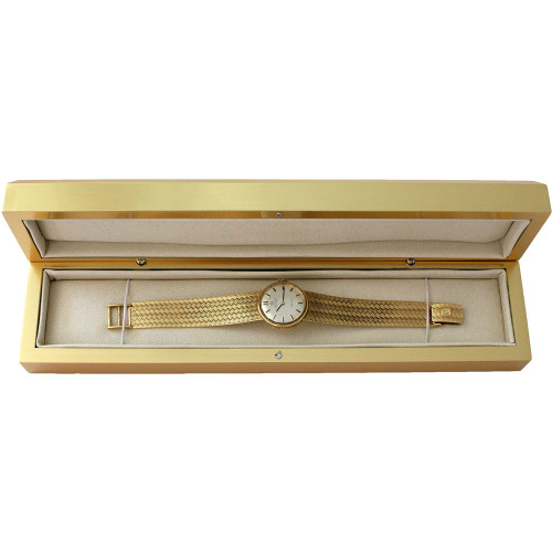 Elegant Gold Bracelet-Watch Box (AAB5-GD)