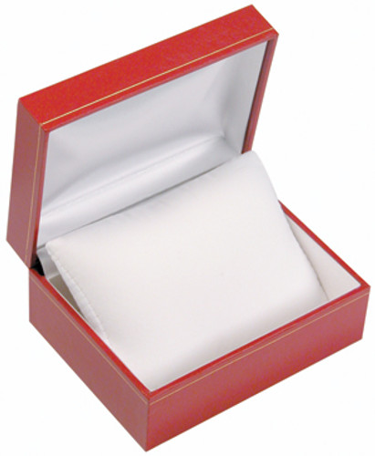 "LW2 Classic Style Watch with Pillow Style Box, 4 1/2"" x 3 1/2"" x 2"" ,  Choose from various Color"