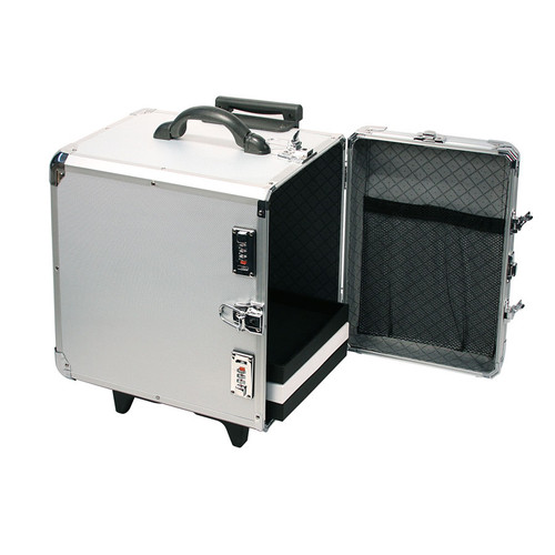 Aluminum Case with Retractable Handle
