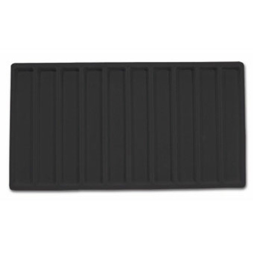 10-Compartment Flocked Tray Insert,(Choose from various Color)