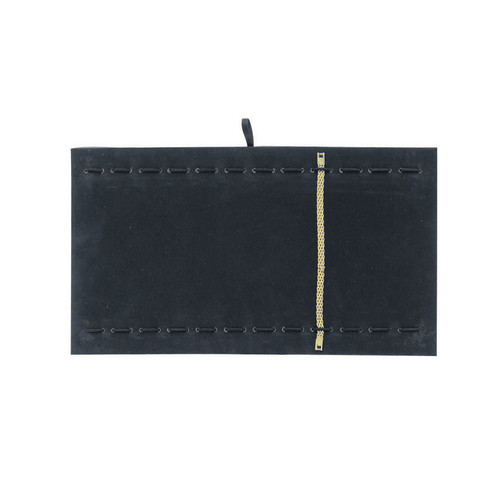 Black Velvet Bracelet Watch Tray Pad