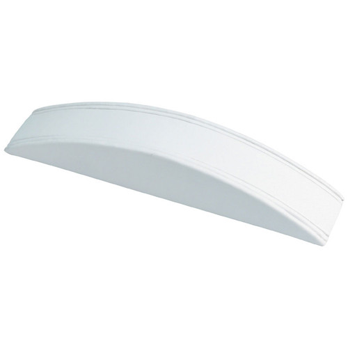 White Faux Leather Bracelet Display Ramp (F4-1L-W)