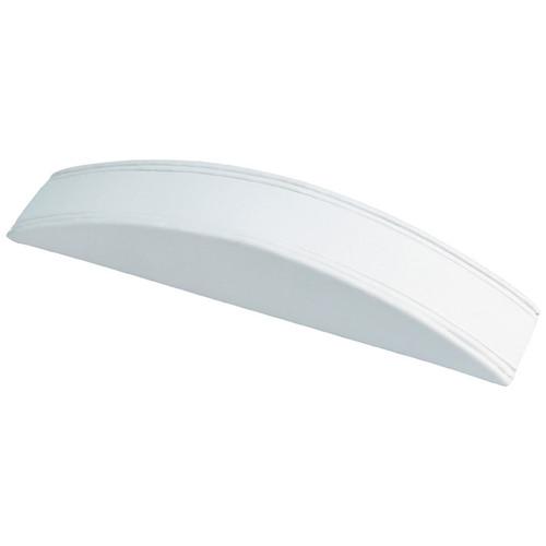 White Faux Leather Bracelet Display Ramp (F4-1L-W)
