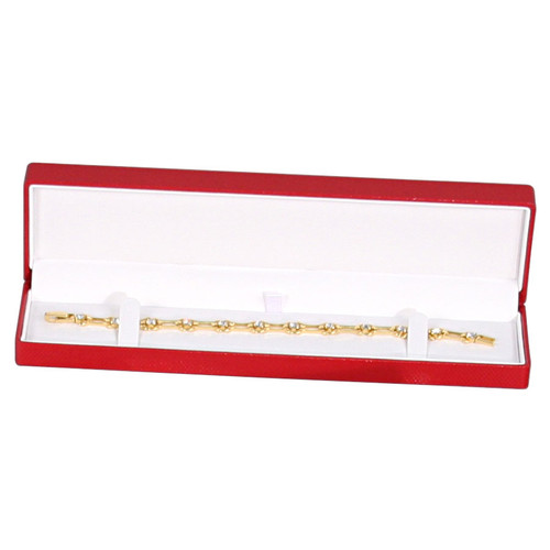 Fancy Bracelet Box with Ribbon , Choose from various Color
