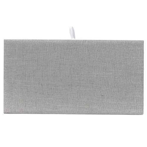 Full Size Grey Linen Plain Pad (DP-9301N-N21)