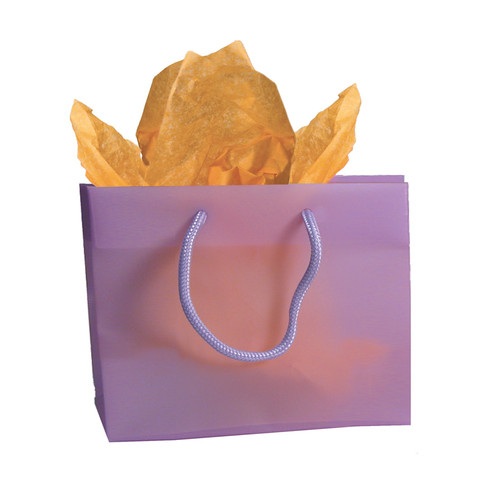 CLOSEOUT-Purple Frosted totes,BX4119-PR,16x6x19""