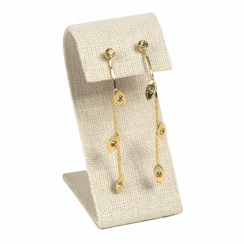 "Earring Display, linen, 1 1/2"" x 3 1/4""H,(Choose from various Color)"