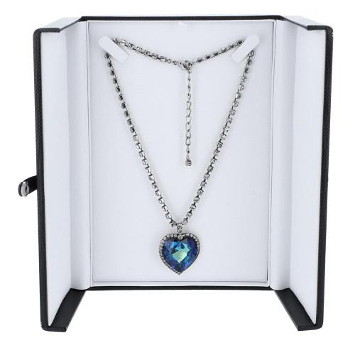 "Premiun Classic Style Necklace Box,8 5/8"" x 2"" x 1"", 2 COLOR"