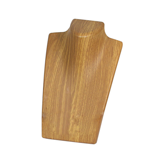 """Wood Grain Pattern Necklace Display , 5 5/8"""" x 8 1/4"""""""
