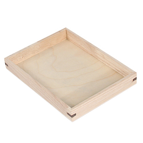 "Wooden Tray 15""W x 8 1/2""D"