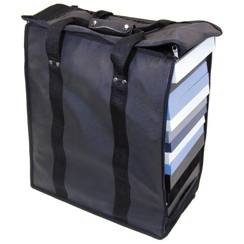 "Soft PVC carrying case - Black, 16"" x 9"" x 19""H, Hold 17 pcs Stander Tray"