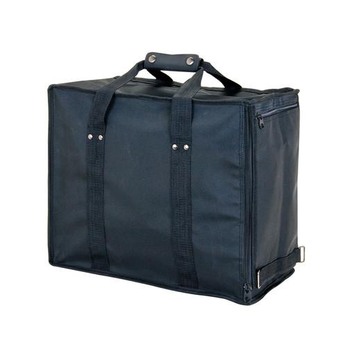 "Soft PVC carrying case - Black, 16"" x 9"" x 13 1/2""H, Hold 12 pcs Stander Tray"