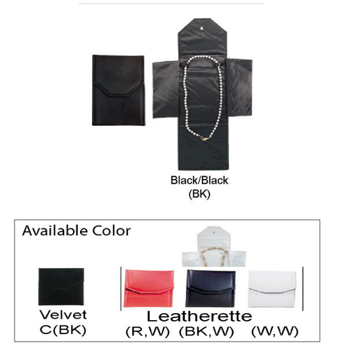 "Necklace Leatherette Folder, 6"" x 8 1/4"""