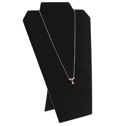 "Necklace Display, 8 1/4"" w x 12 1/2""H, (Choose from various Color)"