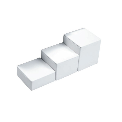 "3-PCS Square Set, 3 1/8"" Sq., 1""H, 1 3/4""H, 2 1/2""H,Choose from various Color"