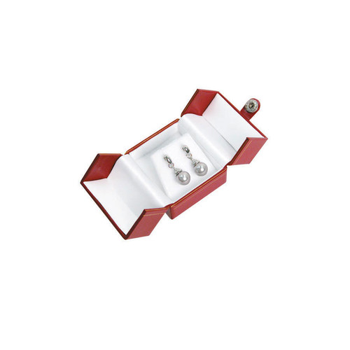 "Classic Style Earring Box, 2"" x 2 1/8"" x 1 3/4"" , Choose from various Color"