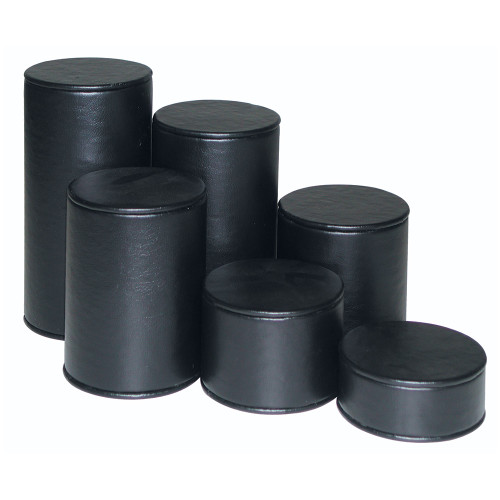 "6-Pieces Cylinder Set, 3"" Diag., 1 1/4""~6 1/4""H, Choose from various Color"