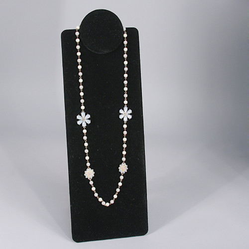"""Foldable Necklace Display, 6 1/2"""" x 9"""" x 7"""" H or 16 5/8""""H, Choose from various Color"""