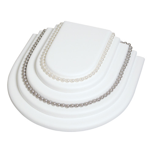 "Necklace Platform, 10 1/4"" x 9 1/8"" x 2 3/4""H,(Choose from various Color)"