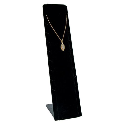 "Necklace Pendant Display,Adjustable, 2 3/4"" x 3 1/2"" x 12""H,(Choose from various Color)"