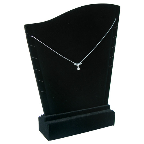 "Necklace Display, 10"" x 1 1/2"" x 11 1/2""H,(Choose from various Color)"