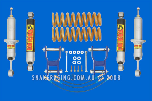 Triton 50mm X Flex Suspension Lift Kit