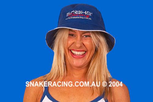 Snake Racing Bucket Hat Blue