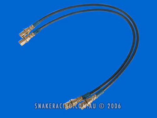 Isuzu Dmax Braided Brake Line Kit
