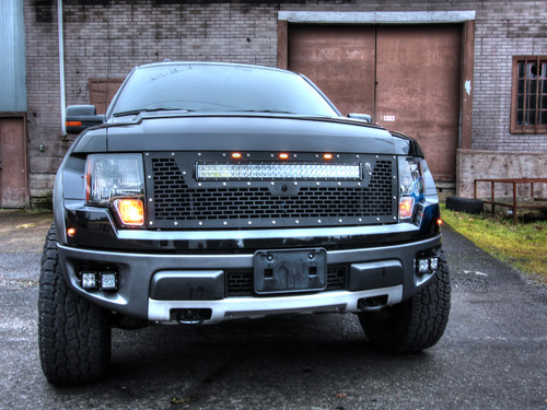 """2010-2014 Ford® Raptor® Grille 30"""" RDS with Camera"""