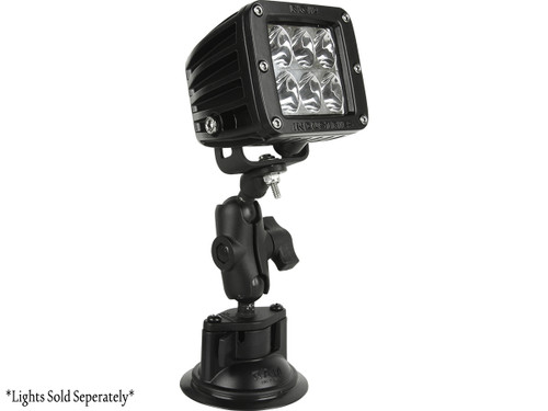 Ram Suction Mount - LED light not included