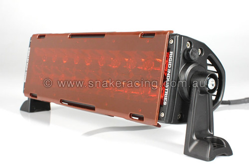 "E Series Translucent Red Lens Cover 10"""