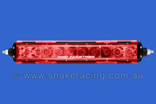"SR Series 10"" Translucent Lens Cover RED"
