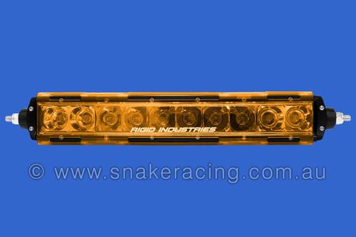 "SR Series 10"" Translucent Cover AMBER"