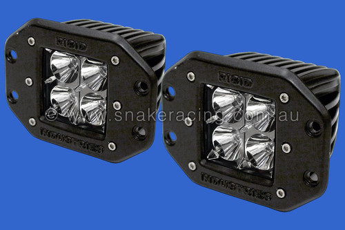 Dually Twin LED Lights Flush Mount - Flood