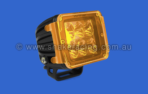 D Series Translucent Amber Lens Cover