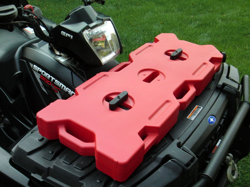 RotopaX 15L Fuel Tank mounted to Quad Bike with 2 x Pax Mounts (not included)