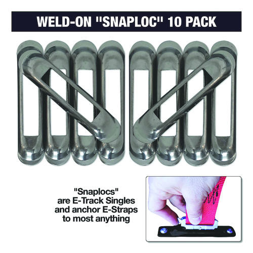 Snap-Loc weld on in a 10 pack