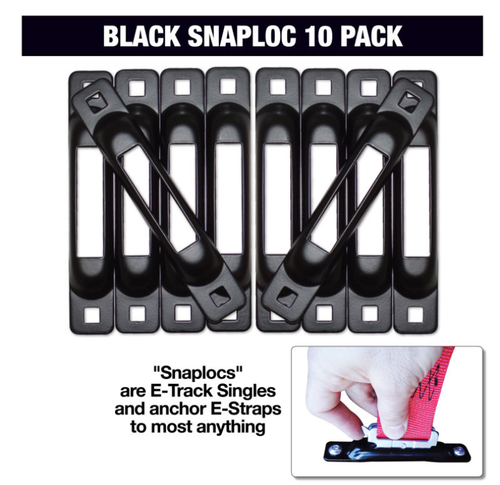Snap-Loc - Black 10 Pack
