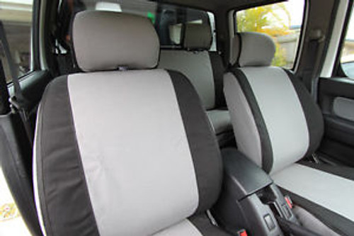 Hilux 10/2015+ MSA Front Canvas Seat Covers 12oz