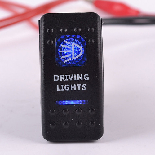 Carling Rocker Switch - Blue - DRIVING LIGHTS