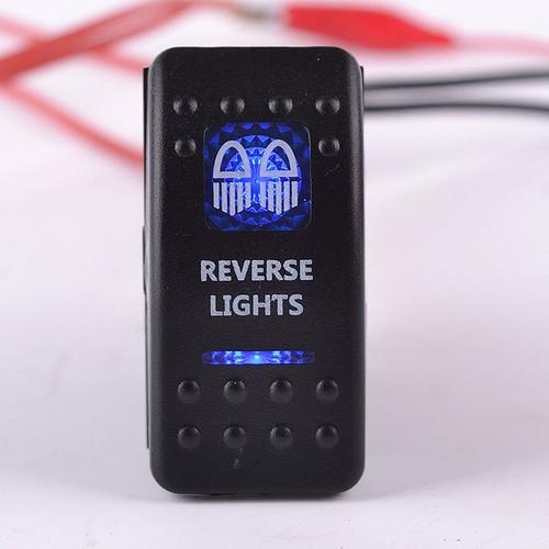 Carling Rocker Switch - Blue - REVERSE LIGHTS