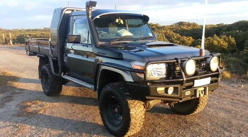 79 Series LandCruiser Ute