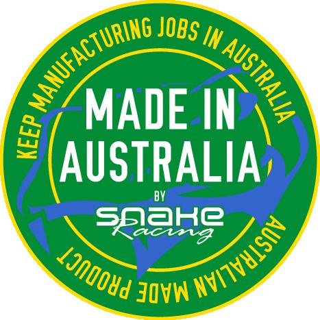 snake racing australian made logo