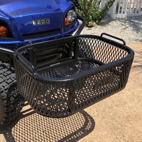EZ GO Golf Cart Aluminum Front Cargo & Storage Basket