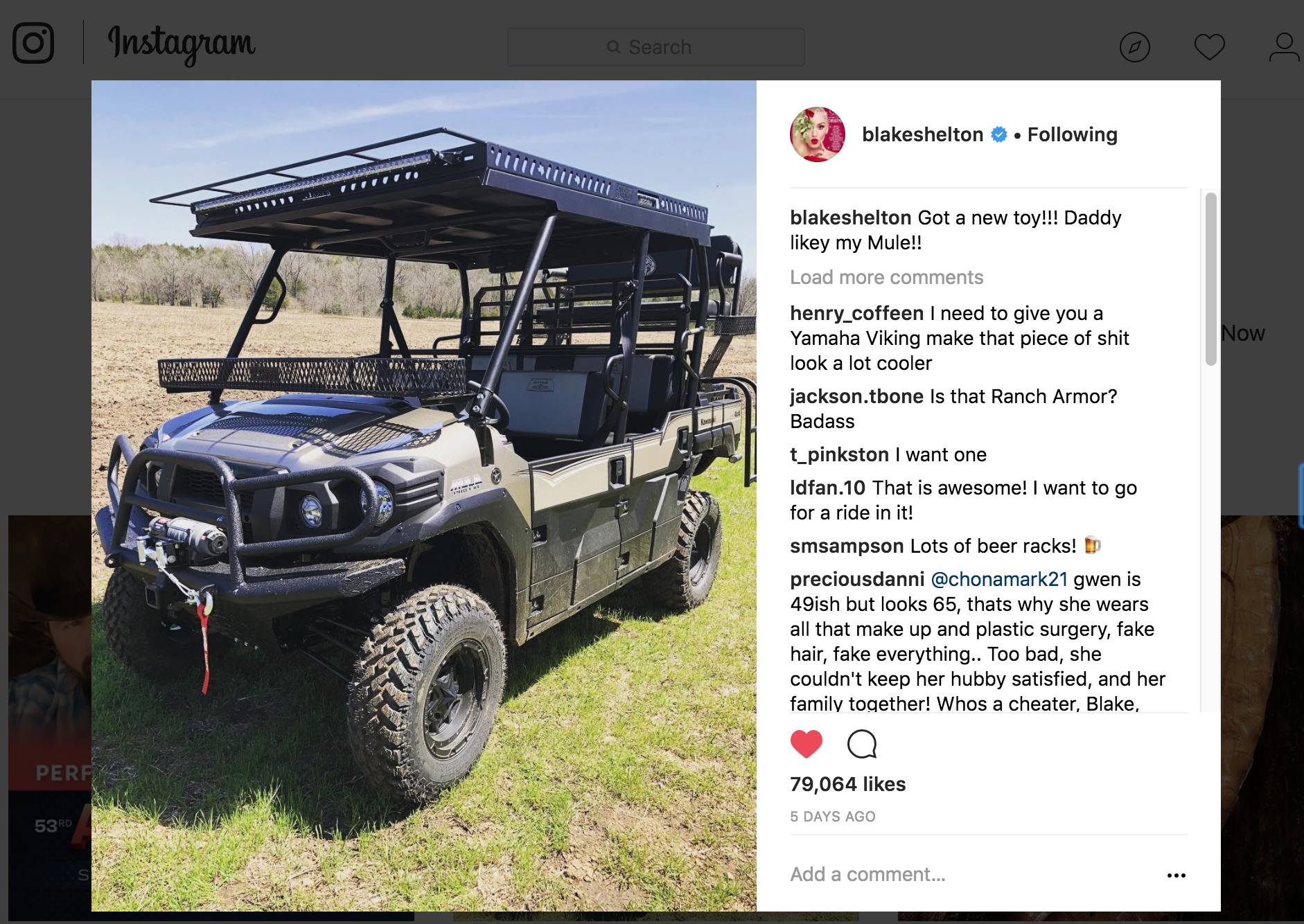 Kawasaki Mule Pro FXT Outfit and Build for Blake Shelton