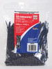 Cable tie black pk500 crescent